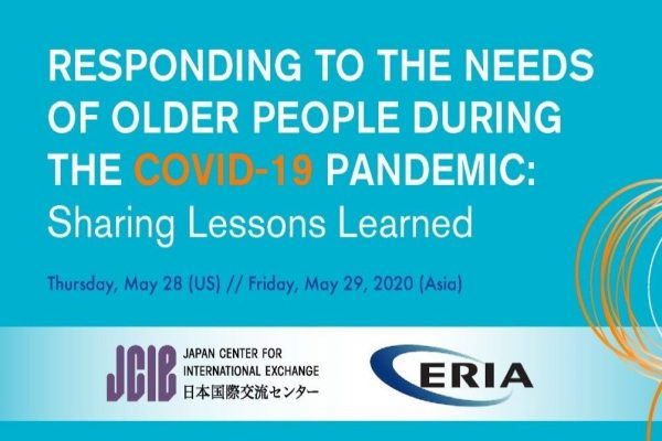 WEBINAR:  Responding to the Needs of Older People During the COVID-19 Pandemic—Sharing Lessons Learned